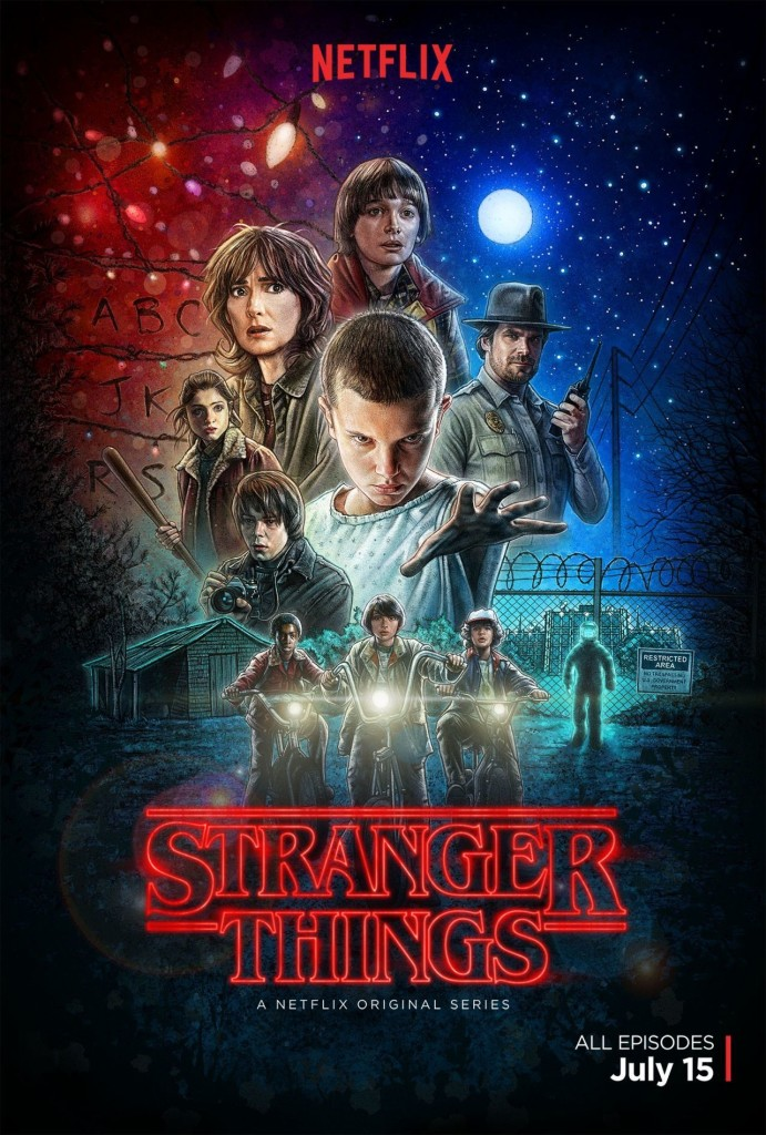 stranger thing poster recenzja marudzenie