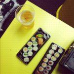 Podstawą diety było sushi.