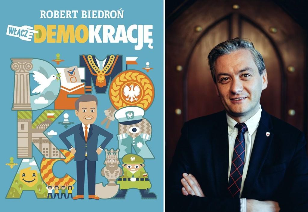 Robert Biedroń - Włącz demokrację - recenzja